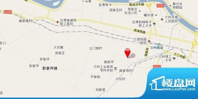 迪威G0923号地项目交通图