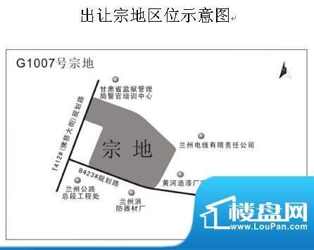 G1007号地项目交通图