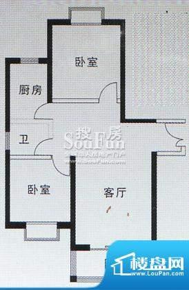 亚太嘉园户型图二期户型 95.06面积:95.06平米