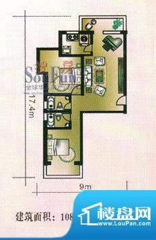 亚太嘉园户型图2室1厅2卫1厨面积:108.92平米