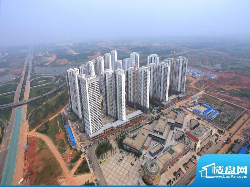 南昌华南城外景图项目整体俯瞰实景图(2