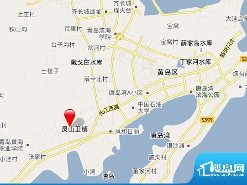 万科青岛小镇交通图