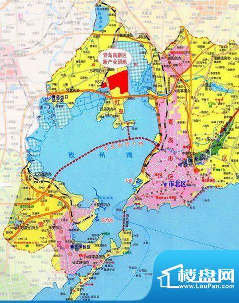 世茂公园美地交通图