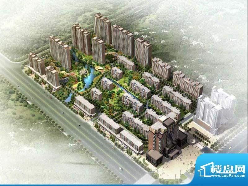 上海城市花园效果图