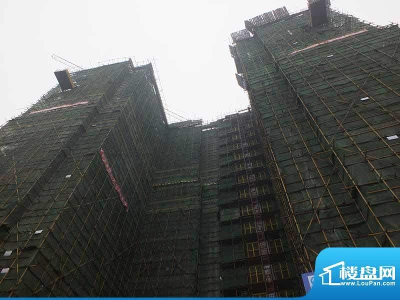 中驰·第一城2#建至13层正面图(2012-12