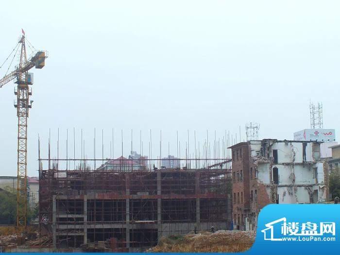 紫东公馆1#在建。预计2013年完工(2012-