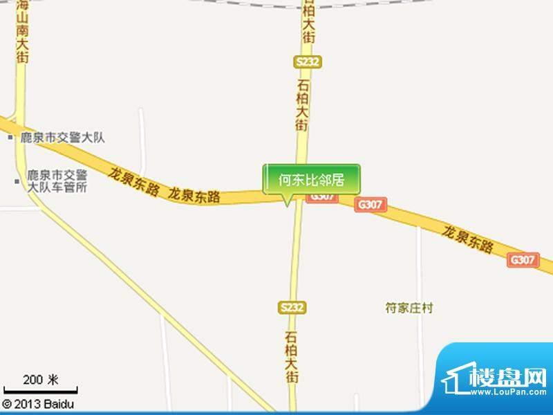 和园交通图