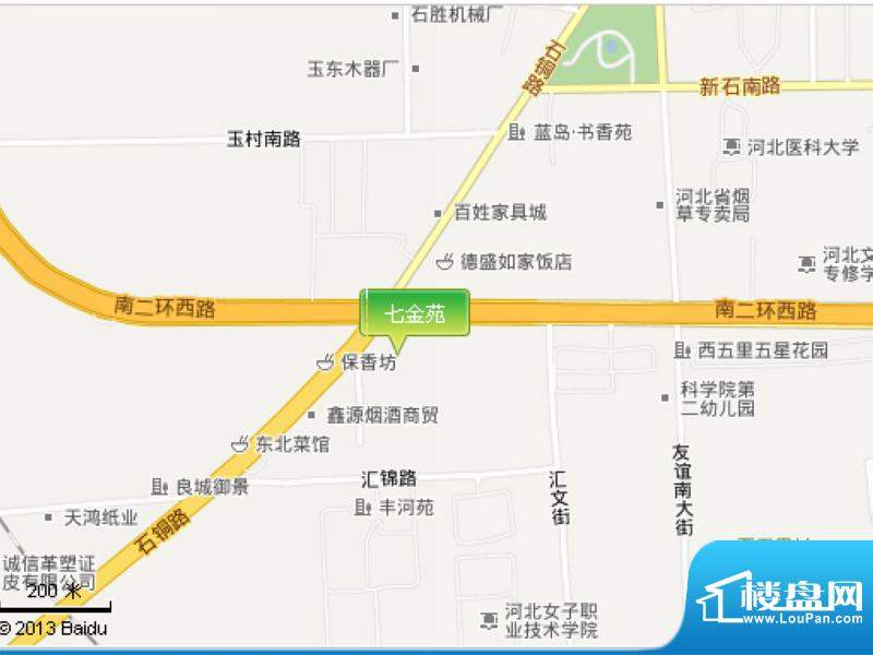 七金苑交通图