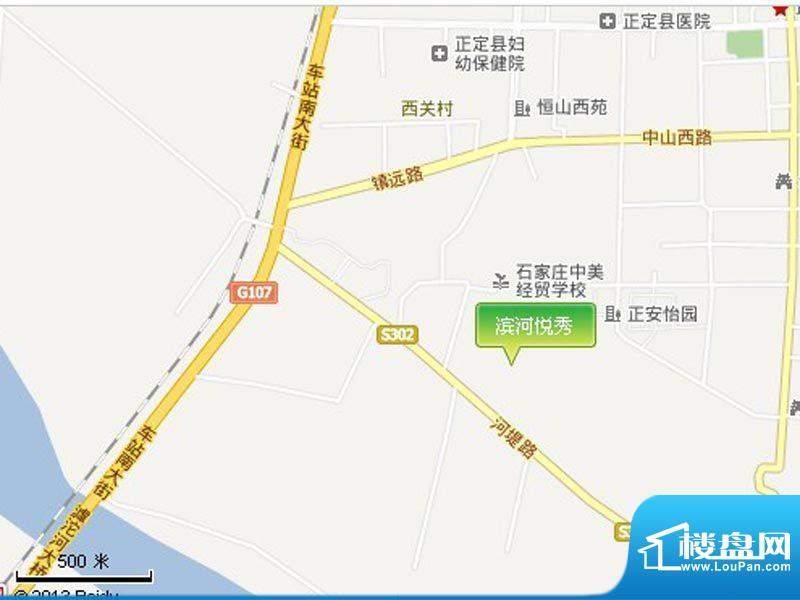 滨河悦秀交通图