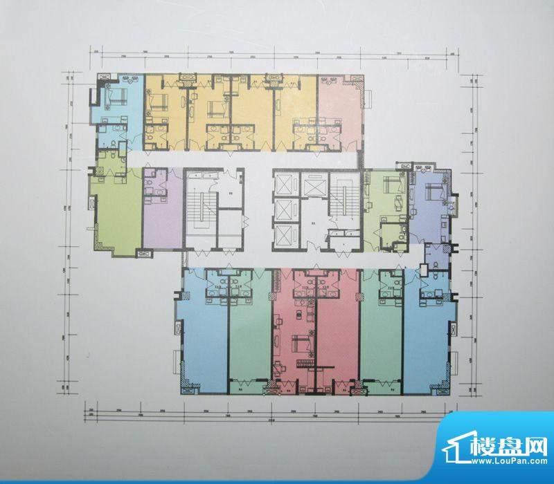 翰林观天下户型图商务公寓户型