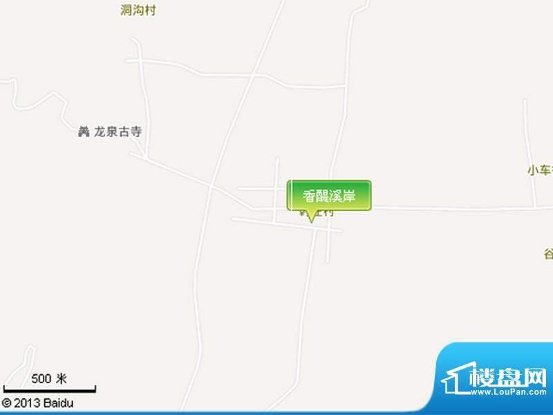 香醍溪岸交通图