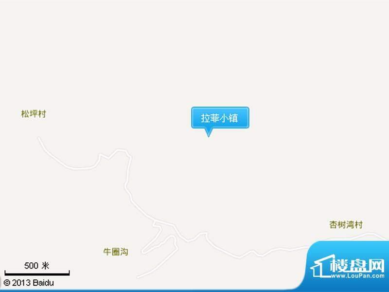 拉菲小镇交通图