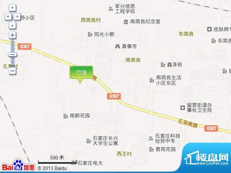 竹境交通图