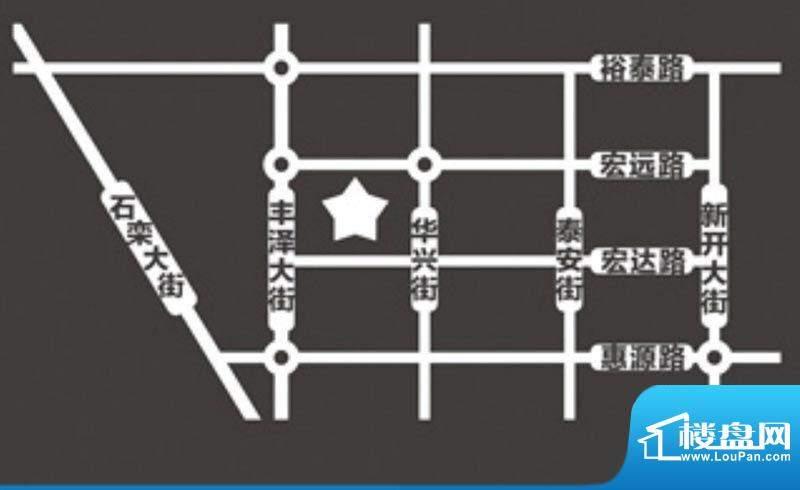 沸点名邸交通图