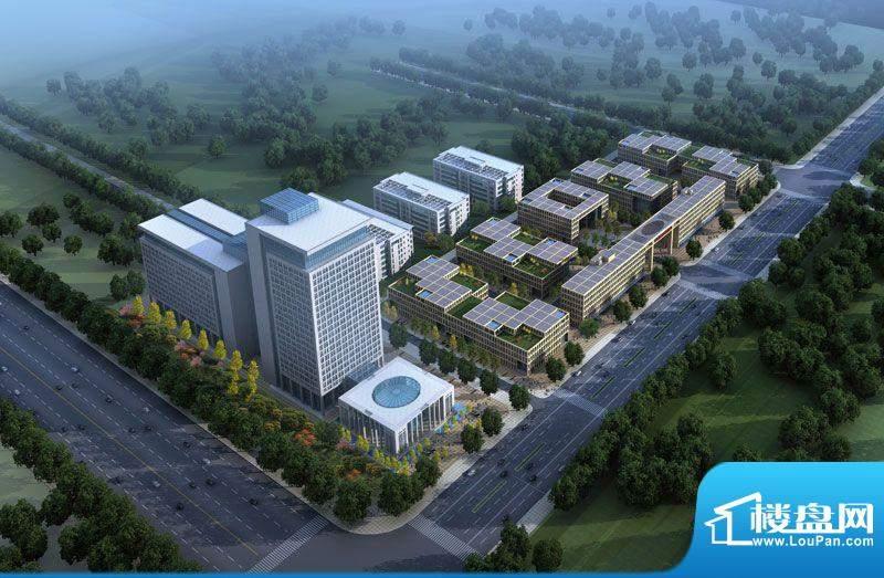 方亿科技工业园公寓效果图