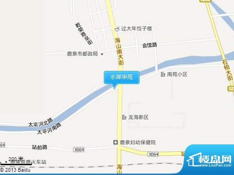 水岸华苑交通图