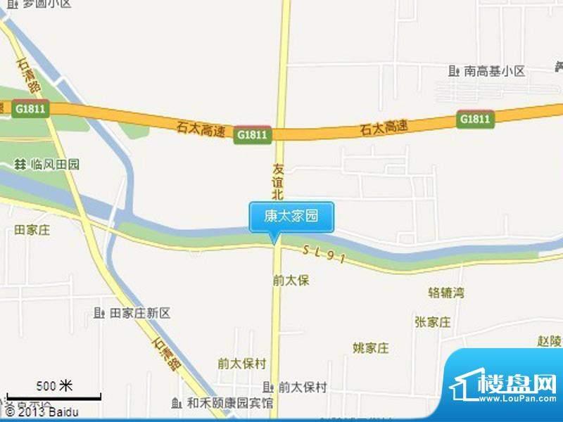 康太家园交通图