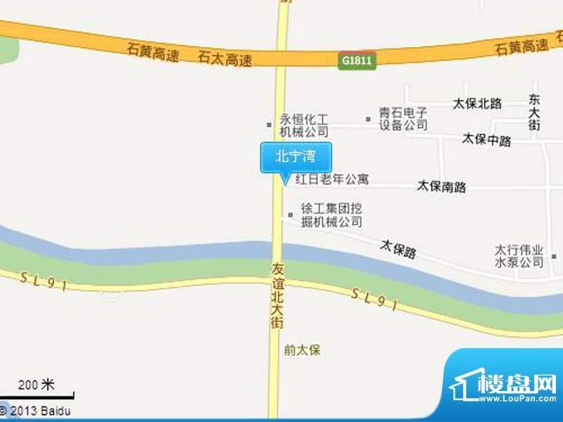 北宁湾交通图
