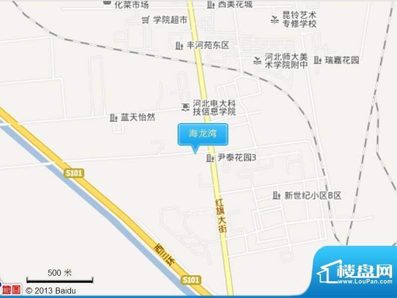 海龙湾交通图