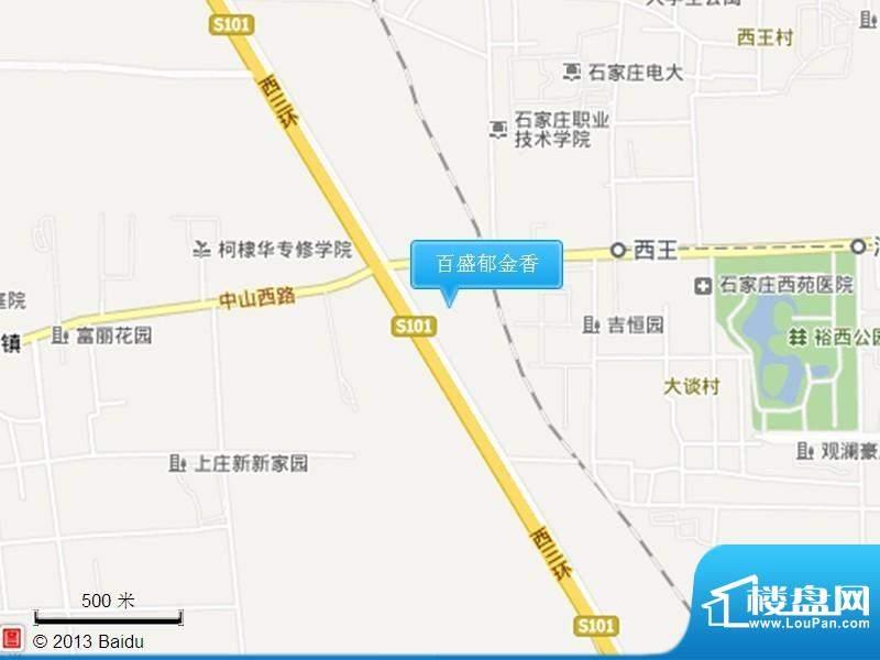 百盛郁金香交通图