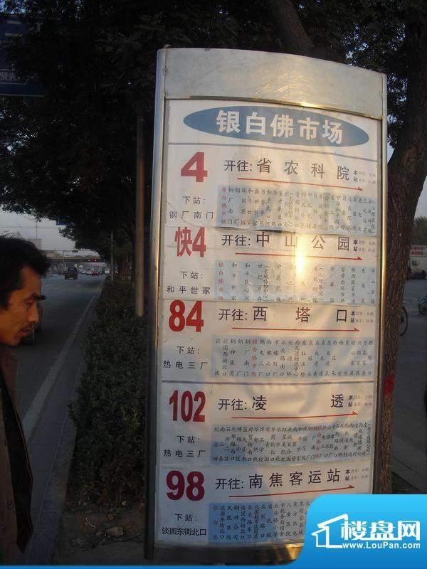 上上东交通图