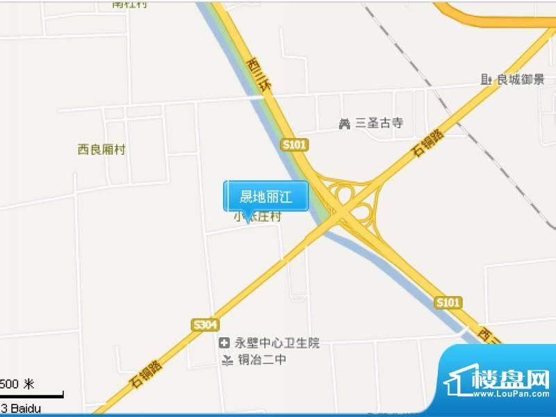 晟地丽江交通图