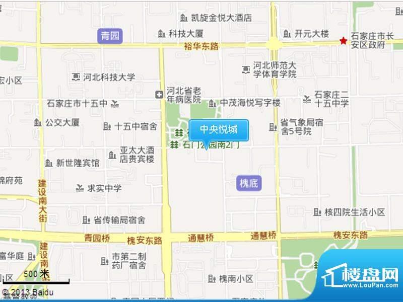 中央悦城实景图