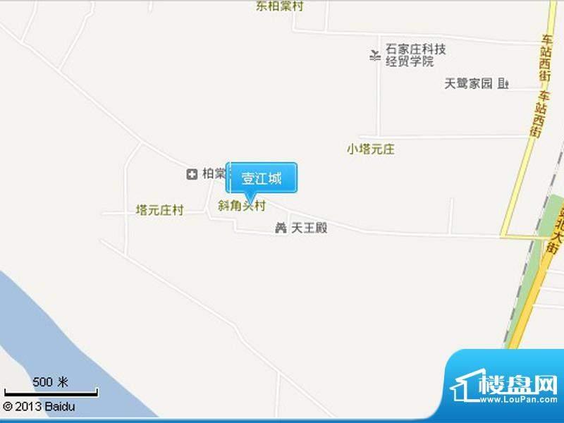 壹江城交通图
