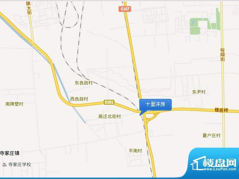十里洋房交通图