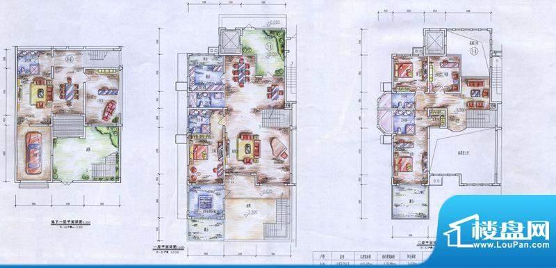 十里洋房户型图A1户型 6室5厅5面积:415.05平米