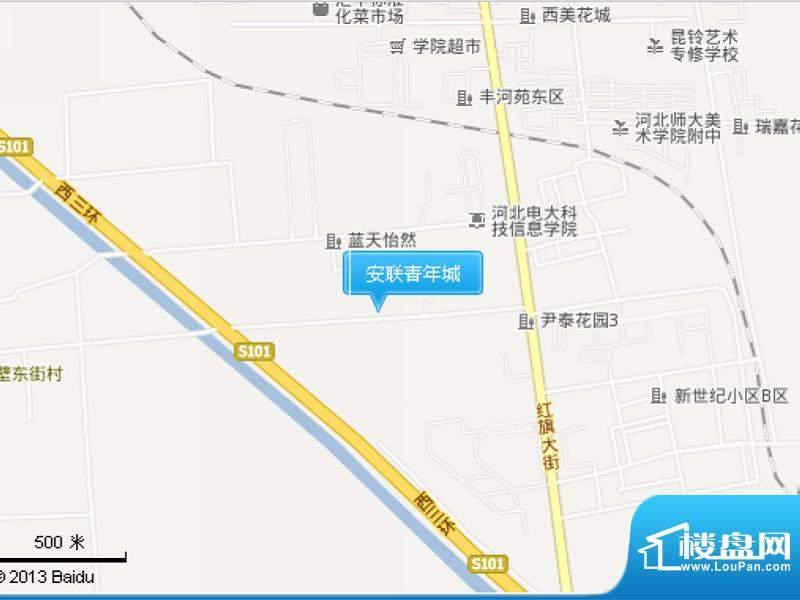 安联青年城交通图