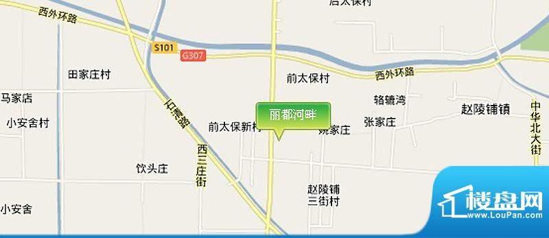 丽都河畔交通图