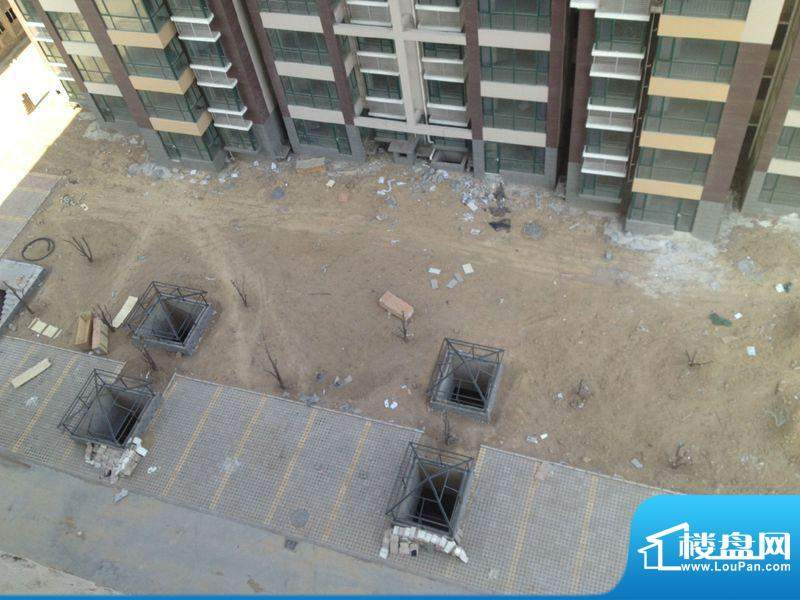 丽都河畔实景图工程进度(2013-1)