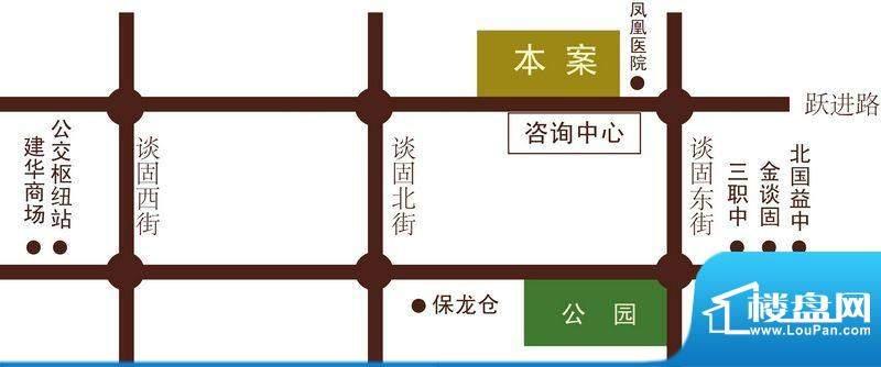 龙鼎天悦交通图
