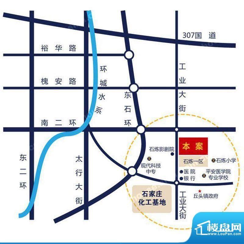 心海湾二期交通图区位图