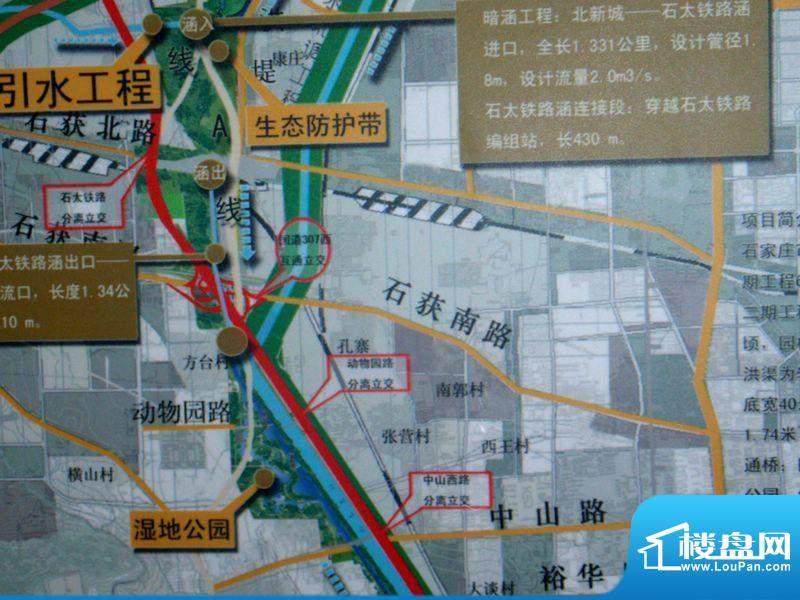 江水西岸交通图区位图