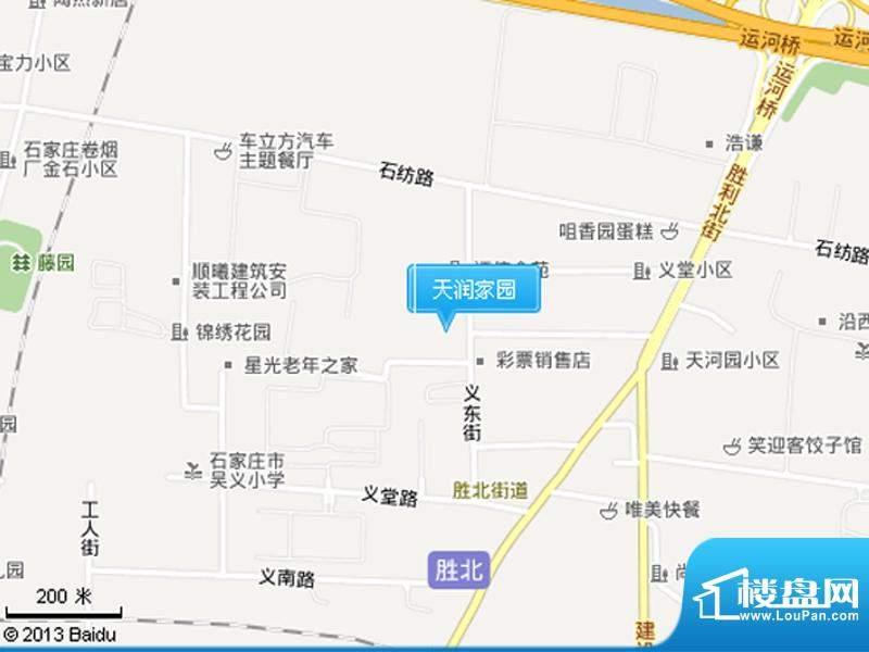 天润家园交通图