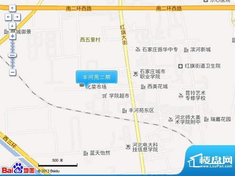 丰河苑二期交通图