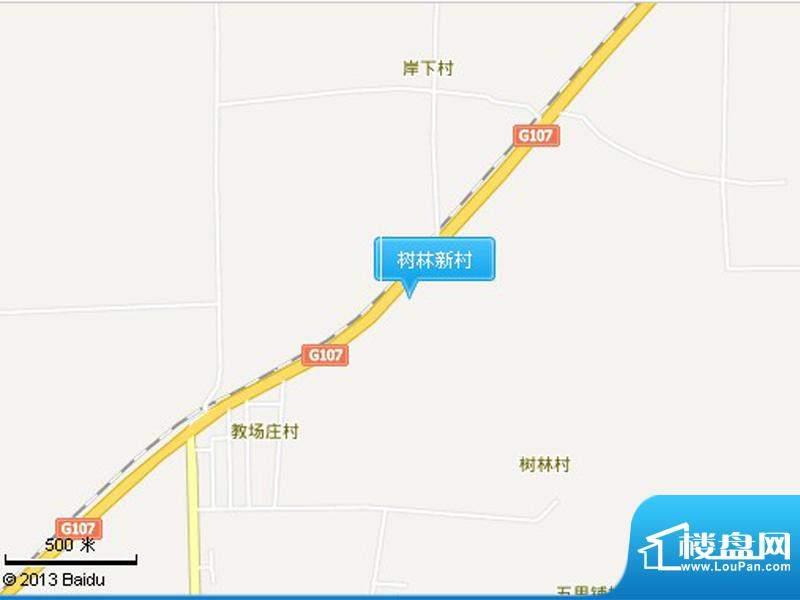 树林新村交通图