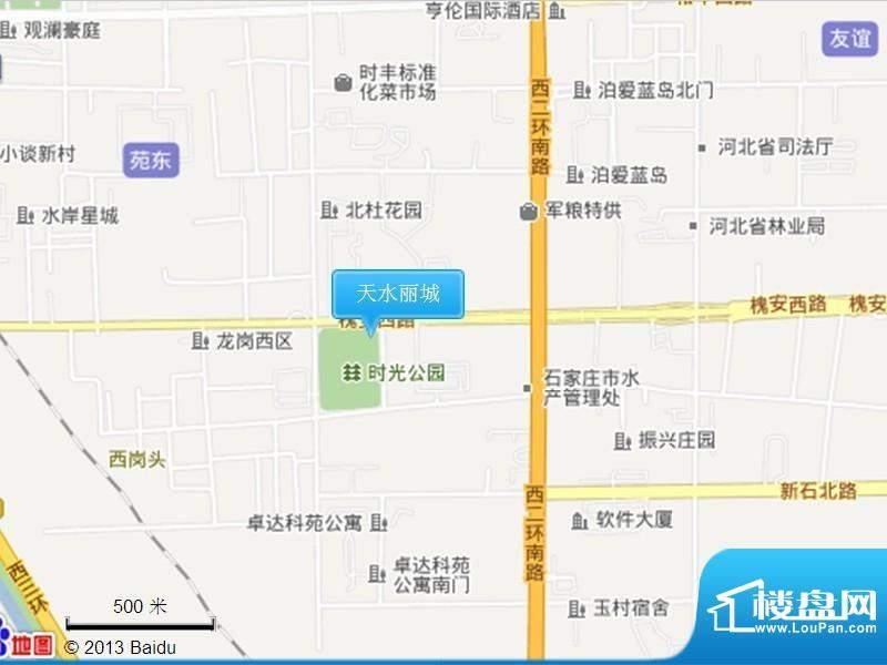 天水丽城二期交通图