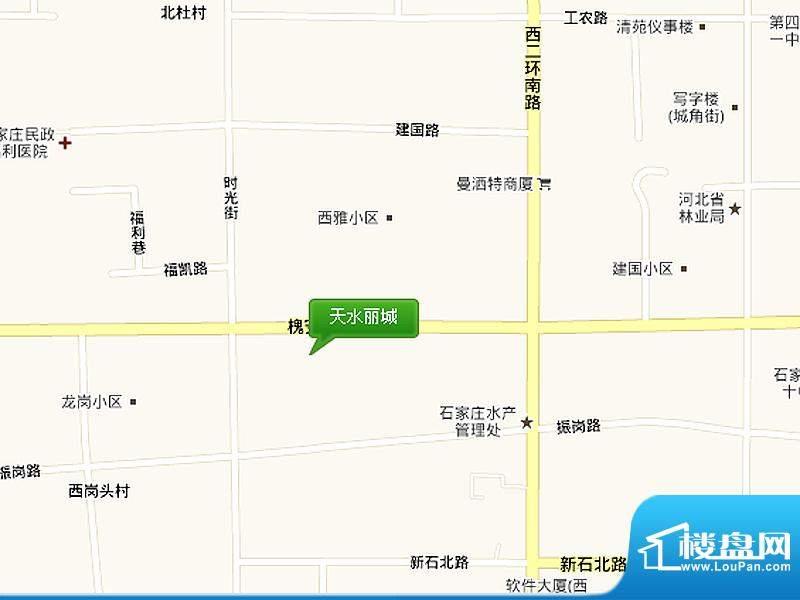 天水丽城交通图区位图