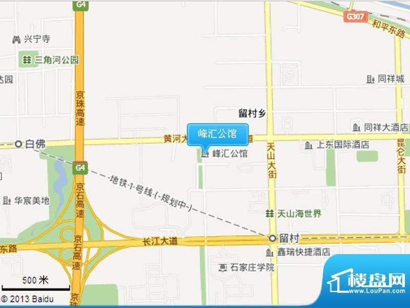 峰汇公馆交通图