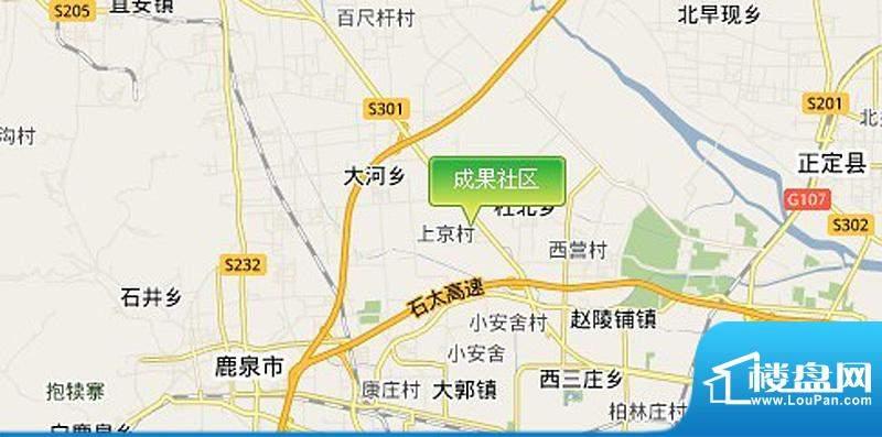 成果社区交通图