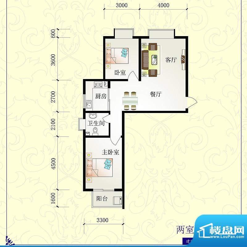 芝兰明仕二期户型图1户型96.79面积:96.79平米