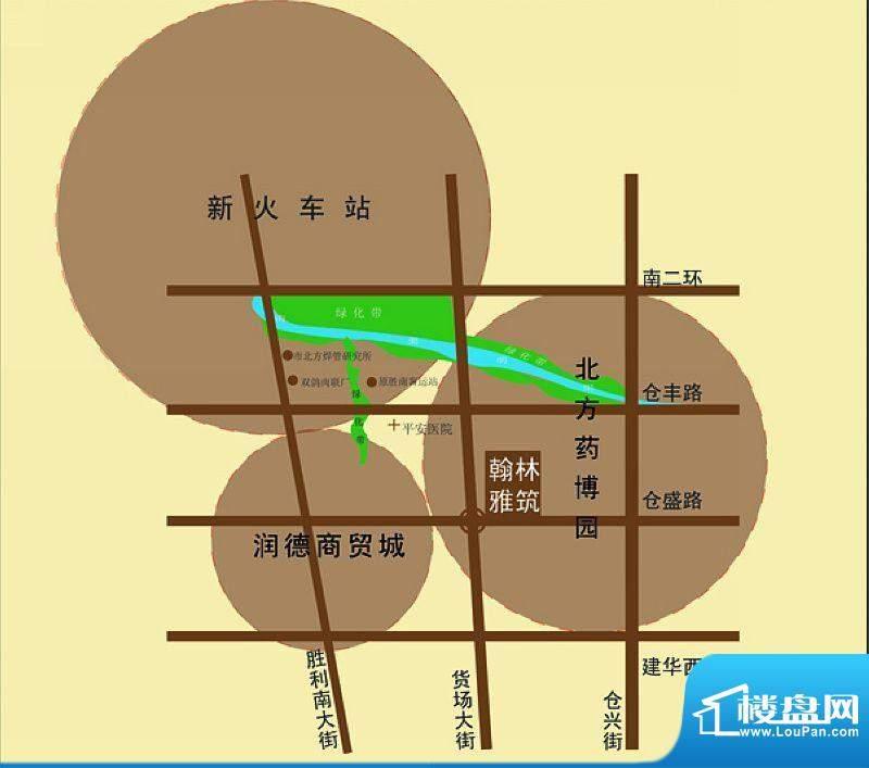 翰林雅筑二期交通图