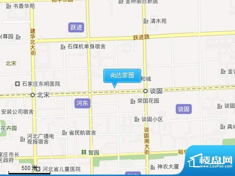 尚达家园交通图