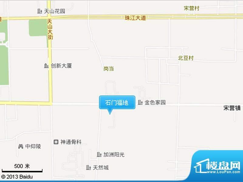 石门福地交通图