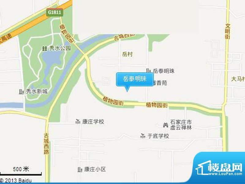 岳泰明珠交通图