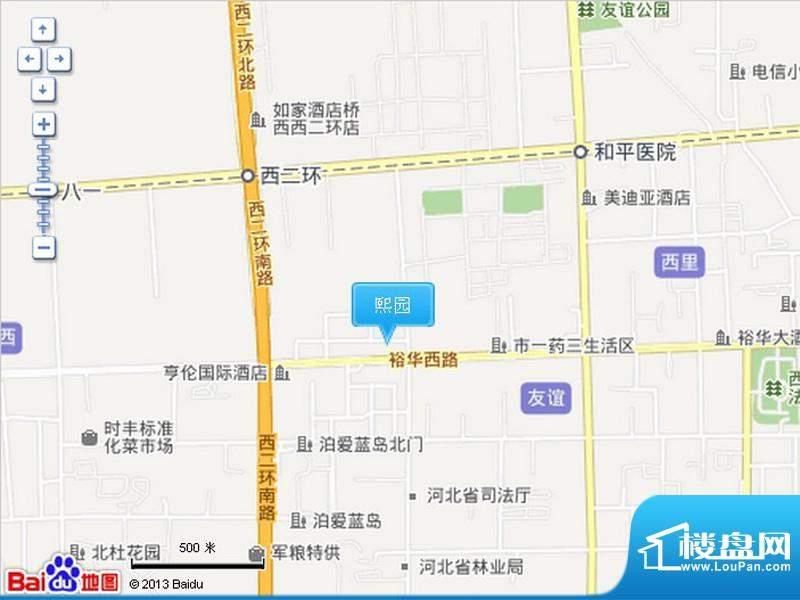 熙园交通图