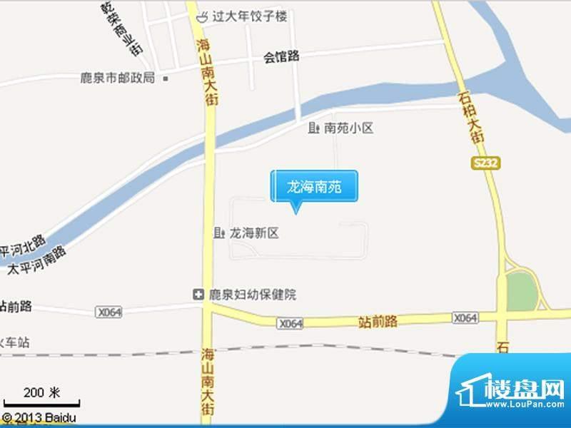 龙海南苑交通图